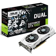 ASUS DUAL-GTX1060-O6G Graphics Card